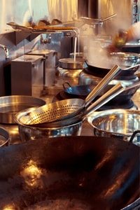 Restaurant Plumbing Service. Grease Trap Installation, grease line blockage, pipeline repair.